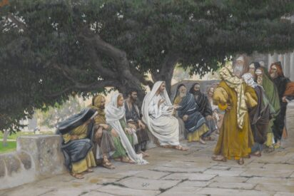 The Pharisees and the Saduccees Come to Tempt Yeshua by James Tissot