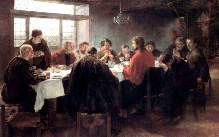 The Last Supper (1886), by Fritz von Uhde