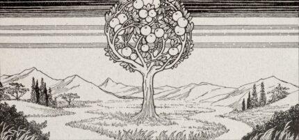 Paradise tree Ephraim Moshe Lilien