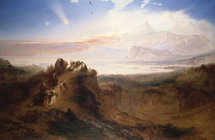 John Martin The Eve of the Deluge