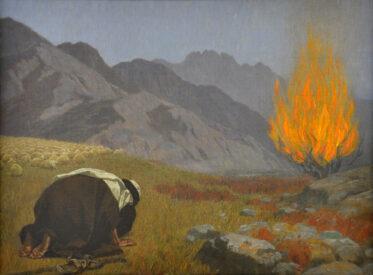 gebhard fugel moses and the burning bush