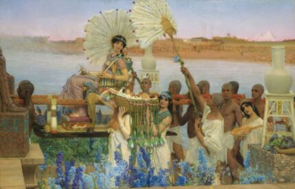 Lawrence Alma-Tadema: The Finding of Moses