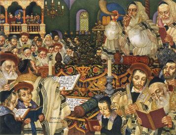 Arthur Szyk (1894-1951). The Holiday Series, Rosh Hashanah (1948), New Canaan
